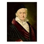 Portrait of Carl Friedrich Gauss, 1840 Post Cards