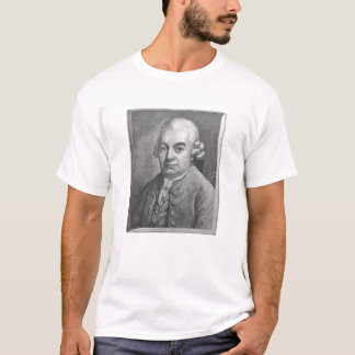 Portrait of Carl Philipp Emanuel Bach (1714-88) (e T-Shirt