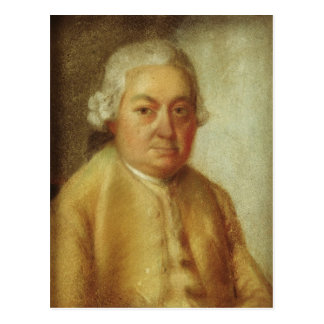 Portrait of Carl Philipp Emanuel Bach, c.1780 Postcard