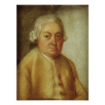 Portrait of Carl Philipp Emanuel Bach, c.1780 Print