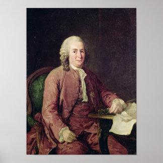 Portrait of Carl von Linnaeus Poster