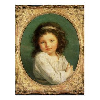 Portrait of Caroline Lalive de la Briche, 1786 Postcard