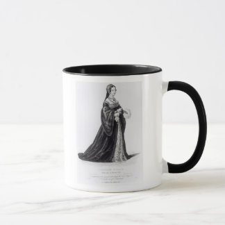 Portrait of Catherine engraved by Hargrave Mug