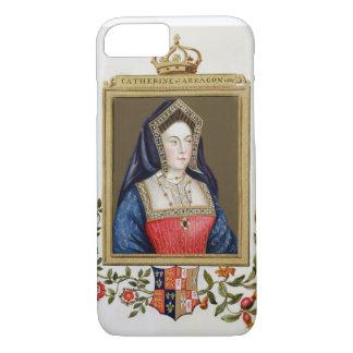 Portrait of Catherine of Aragon (1485-1536) 1st Qu iPhone 7 Case