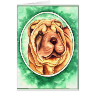 Portrait of Cayenne Card