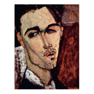 Portrait of Celso Laga by Amedeo Modigliani Postcard
