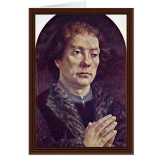 Portrait Of Chancellor Jean Carondelet By Gossaert Card