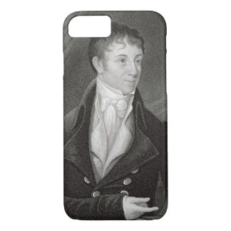 Portrait of Charles Brockden Brown (1771-1810), en iPhone 7 Case