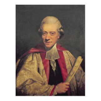 Portrait of Charles Burney, c.1781 Postcard