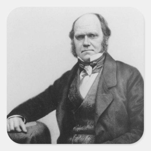 Portrait of Charles Darwin, 1854 Sticker