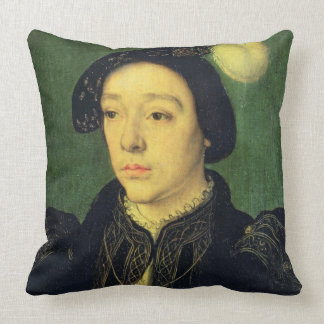 Portrait of Charles, Duke of Angouleme, c.1536 (oi Throw Pillow