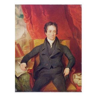 Portrait of Charles Lamb  1826 Postcard