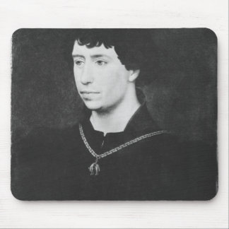 Portrait of Charles the Bold Mouse Pad