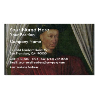 Portrait Of Charles Vii By Fouquet Jean (Best Qual Business Cards