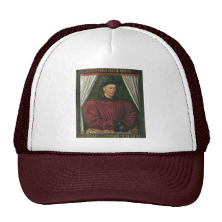 Portrait Of Charles Vii By Fouquet Jean (Best Qual Hats