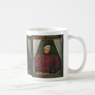Portrait Of Charles Vii By Fouquet Jean (Best Qual Mugs
