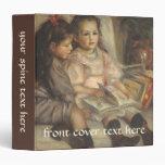 Portrait of Children, Renoir Vintage Impressionism
