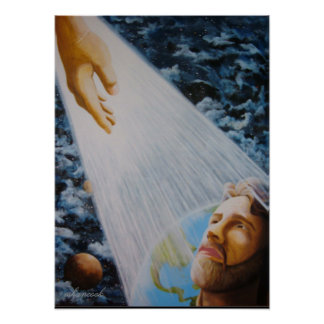 Portrait of Christ Poster