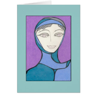 Portrait of Clarity / Retrato de la claridad Card