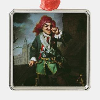 Portrait of Clemens Perkeo Metal Ornament