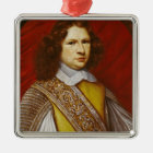 Portrait of Coeffier de Ruze d'Effiat  Marquis Metal Ornament