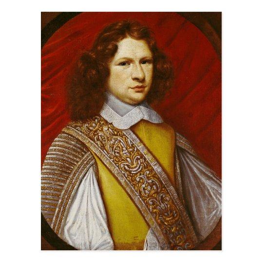 Portrait of Coeffier de Ruze d'Effiat  Marquis Postcard
