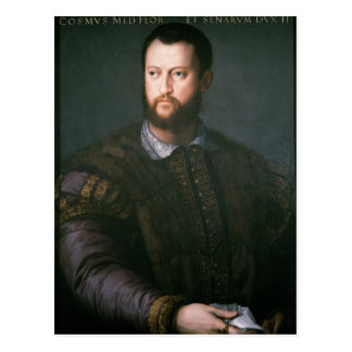 Portrait of Cosimo I de'Medici, 16th century Postcard