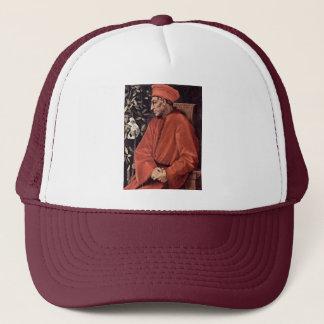 Portrait Of Cosimo Il Vecchio De' Medici, By Ponto Trucker Hat