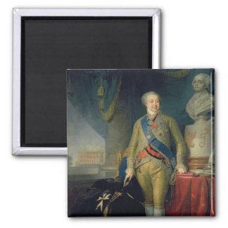 Portrait of Count Alexander Kurakin , 1802 Square Magnet
