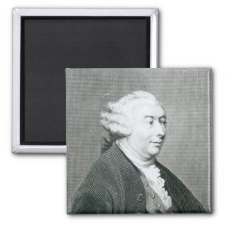 Portrait of David Hume Magnet