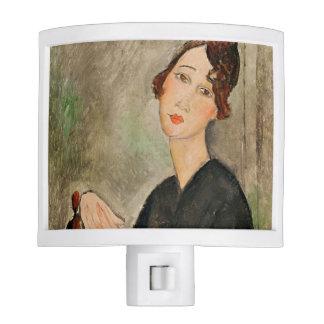 Portrait of Dedie Hayden, 1918 Nite Light