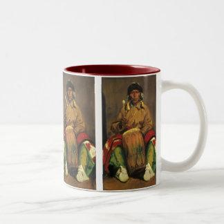 Portrait of Dieguito Roybal by Robert Henri Two-Tone Coffee Mug
