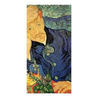 Portrait of Doctor Gachet by Vincent van Gogh Photo Card
