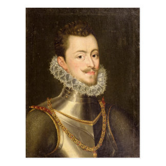 Portrait of Don John of Austria Postcard