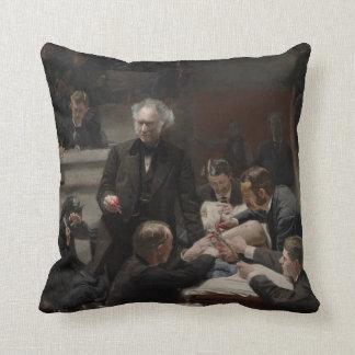 Portrait of Dr. Samuel D. Gross by Thomas Eakins Pillows