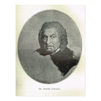 Portrait of Dr Samuel Johnson Postcard