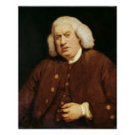 Portrait of Dr. Samuel Johnson Poster