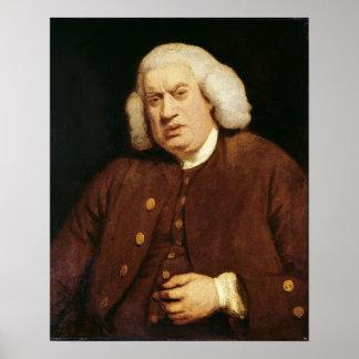 Portrait of Dr. Samuel Johnson Poster