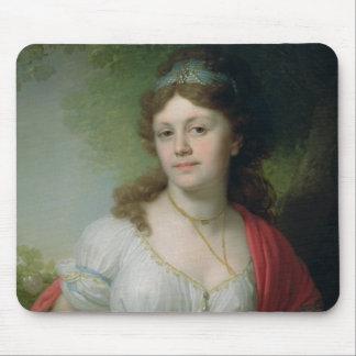 Portrait of E. Temkina, 1798 Mouse Pad