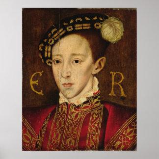 Portrait of Edward VI Poster