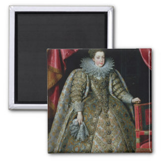 Portrait of Elisabeth of France  1615 Magnet