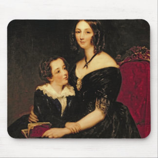 Portrait of Eliza Boardman and her son, Robert, 18 Mouse Pad