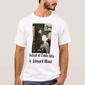 Portrait of Emile Zola Edouard Manet, Portrai... T-Shirt
