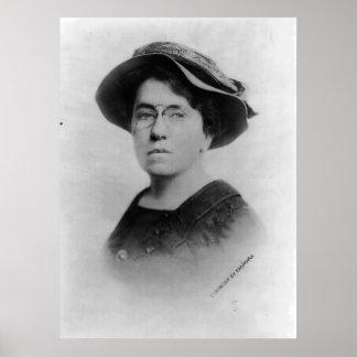 Portrait of Emma Goldman Anarchist Feminist Poster