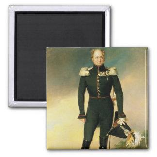 Portrait of Emperor Alexander I  1825 Square Magnet