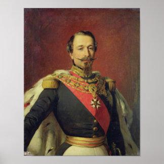 Portrait of Emperor Louis Napoleon III Poster
