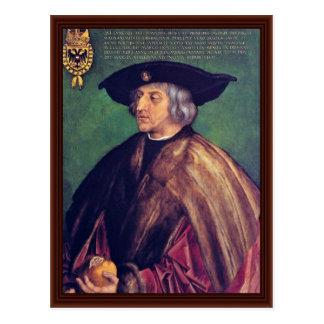 Portrait Of Emperor Maximilian I By Albrecht Dürer Postcard