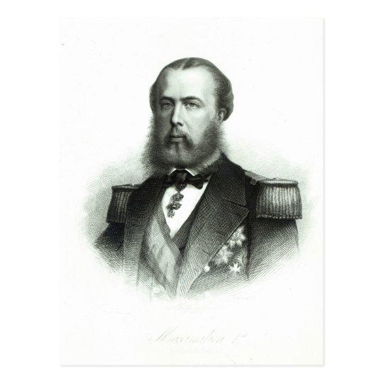 Portrait of Emperor Maximilian of Mexico, 1864 Postcard