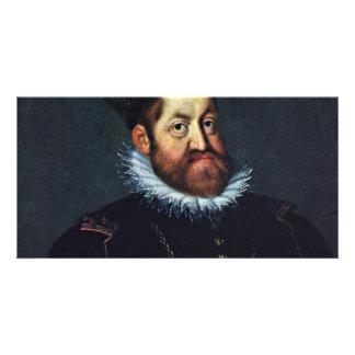 Portrait Of Emperor Rudolf Ii By Heintz D. Ä. Jose Picture Card