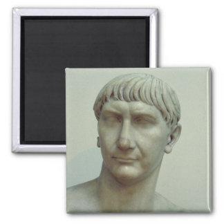 Portrait of Emperor Trajan Magnet